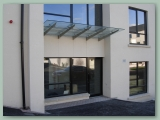 Cantilever Stainless Glass Canopy Rods