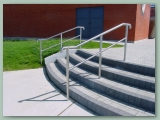 Stainless Handrail to Steps
