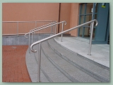 Polished Brass Handrail