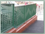 Patterned Tube Railing