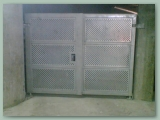 Perforated Paneled Gate
