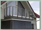 Stainless Balcony with Rod Type Railing