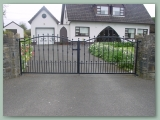 Double Curved gate