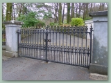 Cast Iron Gate Reproduction