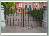 Heavy Cast Iron Gate