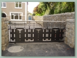 Contemporary Sliding Gate
