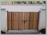 Box Frame Gate Timber Latts
