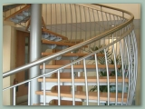 Spiral Stainless handrail